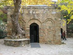 The last house the Virgin Mary lived in. Ephesus Turkey