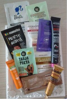 Maquiagem de óculos: Organizando os cremes para cabelo - parte 1