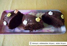 Német kakaós kuglóf Cookies, Chocolate, Desserts, Food, Crack Crackers, Tailgate Desserts, Deserts, Biscuits, Essen
