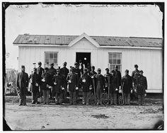Band of 107th U.S. Colored Infantry at Fort Corcoran; Arlington, Va.