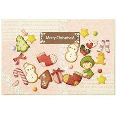 #DIY #Christmas card 3D paper crafting kit snowman elf #crafts #papercraft