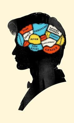 Doctor Who Phrenology - by Chris Wharton
