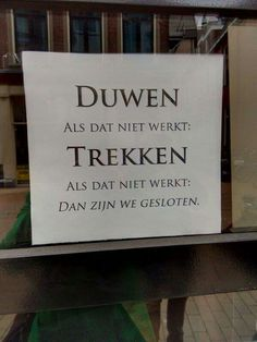 37 Ideas for funny signs humor jokes hilarious Funny Texts, Funny Jokes, Hilarious, Joelle, Ga In, Dutch Quotes, Funny Couples, Have A Laugh, Funny Cartoons