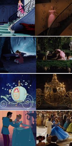 Cinderella, then and now.