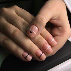 минимализм на ногтях