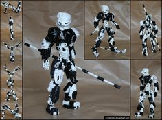 Bionicle MOC: Toa Niyyan by *Rahiden on deviantART