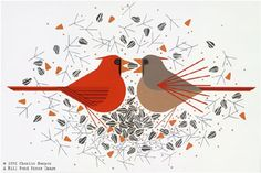 Charley Harper is one of my favorites!