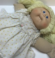 Cabbage patch kid doll vintage 1978 Collectable doll kids toy baby doll by Bayleesncream on Etsy