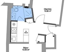 surface de 36 m2 le plan dune petite salle de bains avec douche xl plan 2 tages pinterest - Plan D Une Salle De Bain