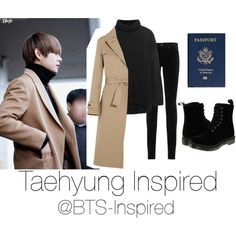 Taehyung Inspire Airport Fashion