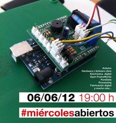#miércolesabiertos on our minds.   Today 19h