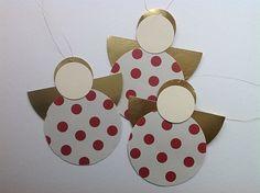 Inspireret af Karin med bloggen Kreative tankeknips , som har lavet søde cirkel-engle , har jeg også lavet engle :-) Jeg har også...