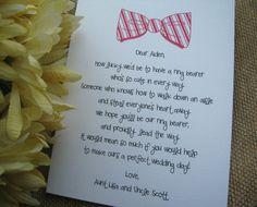 Will You Be My Ring Bearer Card by GabrielleKearney on Etsy