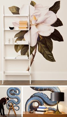 Steel Magnolia... wall decal
