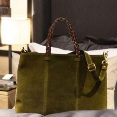 Hippi Grace Zurich Shopper Semsket Oliven via HIPPI GRACE  Webshop. Click on the image to see more!
