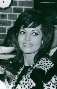 Vintage Photo of A Photo of A French Actress Michèle Mercier Smiling 1971   eBay