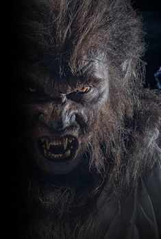 Werewolf Makeup, Werewolf Art, Arte Horror, Horror Art, Fantasy Creatures, Mythical Creatures, Monster Mask, Monster Munch, Vampires And Werewolves