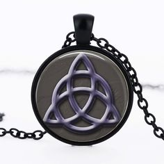 Fashion totem glass pendant necklace fashion art picture jewelry charms witchcraft pendnat necklaces ftc-n175