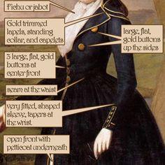 American Duchess: Costume Analytics: The American Redingote, 1791