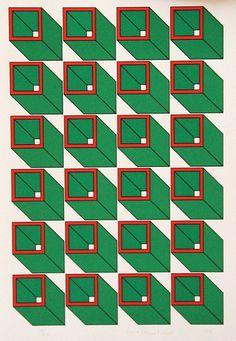 Silkscreen - Academy of Art 2 of Wendy Holmstrand Surface Pattern, Surface Design, Graphic Patterns, Print Patterns, Art Graphique, Art Abstrait, Grafik Design, Art Design, Vintage Design