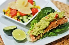 Recipes with salmon #healthy #salmon