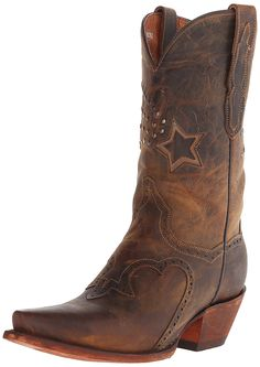 Dan Post Women's Dallas Star Western Boot -- This is an Amazon Affiliate link. You can find more details by visiting the image link.