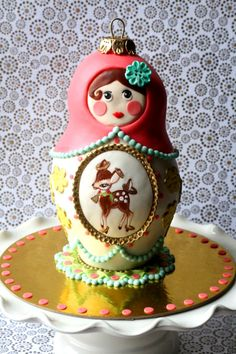 Russian doll cake tutorial