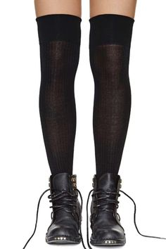 Emiline Thigh High Socks and boots