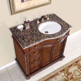 """Basically the ONLY reason I like this is that the sink is offset to the right...however, that alone is screaming GENIUS to me.  Found it at Wayfair - Butler 36"""" Single Bathroom Vanity Set"""