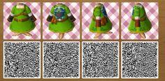 Animal Crossing QR codes Legend of Zelda Link cosplay
