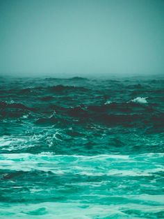 the bluest things on earth Art Print by Aidan Devereaux | Teal turquoise Ocean Photography