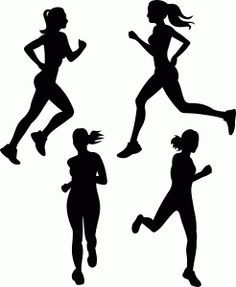 Athletics Silhouette Vector – Sports Running Graphics ...