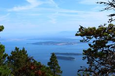 Hike/Bike/Drive up Mount Constitution For the best view from the highest point in the San Juans, hike/bike or drive 2,407 feet up Mount Constitution in Moran State Park. Have a picnic and climb up the stone tower for views of the San Juan Islands, Vancouver Island and the Canadian Gulf Islands.