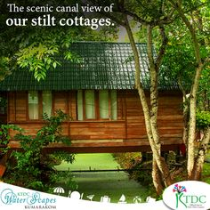Our stilt cottages give you a scenic canal view. Check into KTDCWaterScapes and begin your cool vacation