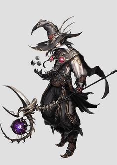Beautiful Science Fiction, Fantasy and Horror art from all over the world. Character Design References, Game Character, Character Concept, Game Concept Art, Fantasy Rpg, Dark Fantasy, Fantasy Male, Fantasy Character Design, Character Design Inspiration