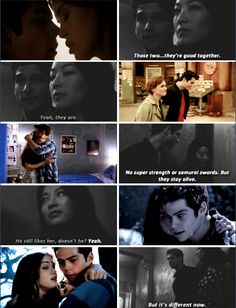 Teen Wolf season 5 - Scott and Kira talking about Stiles and Lydia