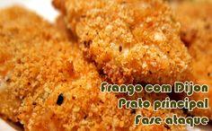 Frango com mostarda Dijon #receitas #receitaslight #dukan #dieta #fitness