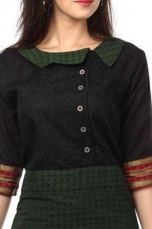 Cross V-Neck Collar Open Shirt Tailored Dress
