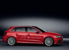 #Audi presentará en el Salón de Ginebra al A3 e-tron. Un revolucionario auto híbrido, que promete consumo de 1.5 litros de combustible, por cada 100 kms.