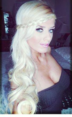 #longhair #long #hair #thickhair #myfantasyhair #extension #perfectwaves #wavyhair #longcurls #myfantasyhair #longhairextensions #redhighlights #highlithair #blondeextensions #hairextensions