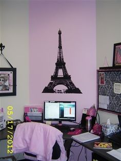 Finlandia (my office with Paris theme)