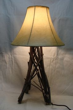 Willow Twig Table Lamp by leegrover