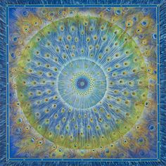 Mandalas.com--The Art of Paul Heussenstamm Peacock Mandala