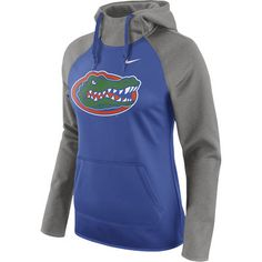 bbad1b0714 Women s Nike Royal Florida Gators Tailgate All-Time Pro Raglan Hoodie