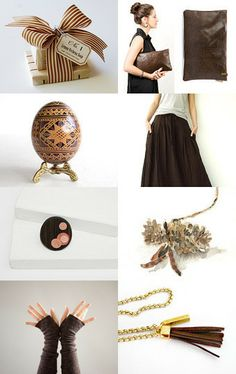 BROWN by Liat Hartman on Etsy--Pinned with TreasuryPin.com