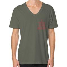 i Feel Like Brady V-Neck (on man) Shirt