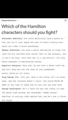 Who you should fight pt 1