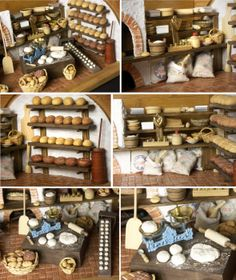 Beautiful Vintage Bakehouse in a Bread Box by DinkyWorld on Etsy