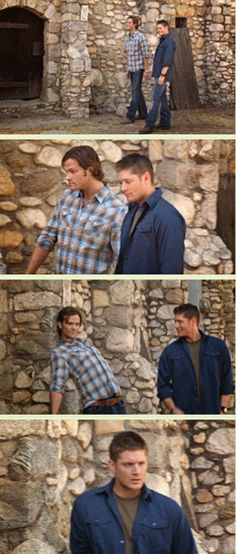 [GIFSET] probably how all their promo shoot shoots go --Jensen looks so confused.