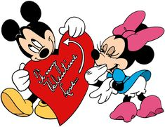 Clip art of Mickey and Minnie Mouse Valentines Movies, Disney Valentines, Valentines Day Holiday, Cartoon Sketches, Cartoon Styles, Mickey Minnie Mouse, Embroidery Designs, Embroidery Files, Stock Design